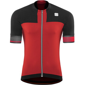 Sportful Strike Jersey Men red/black